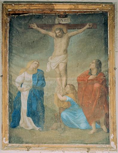 tableau : Christ en croix