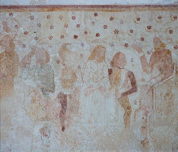 peinture monumentale : Jésus devant Caïphe