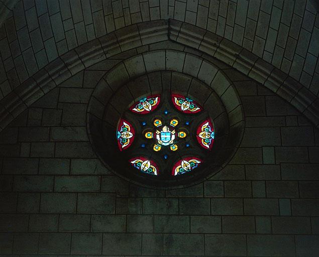 verrière : Armoiries du pape Léon XIII
