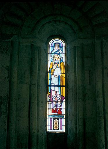verrière : saint Sigismond