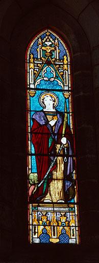 verrière d'un ensemble de 5 : sainte Marguerite
