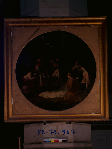 peinture : Déploration du Christ