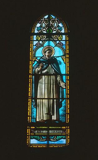verrière : saint Dominique