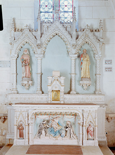 Eglise paroissiale Saint-Macrin, Saint-Jean-Baptiste