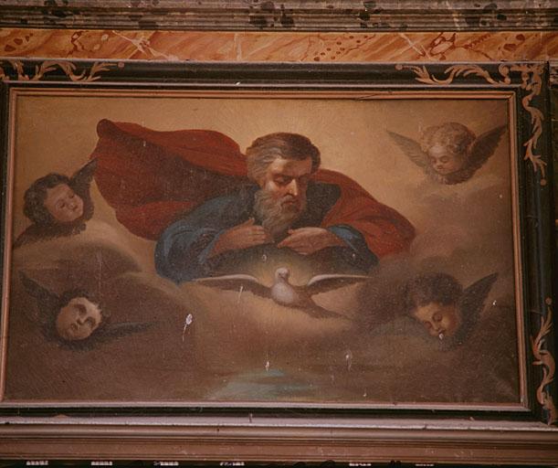 tableau : Dieu le Père et le Saint-Esprit