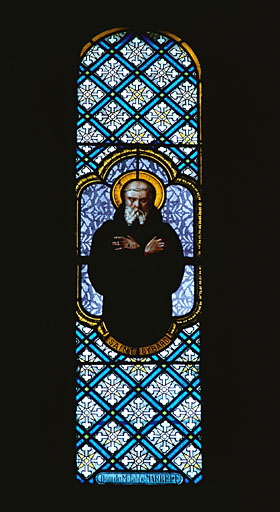 verrière : saint Cybard