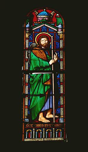 Verrière hagiographique : saint Jacques le Majeur