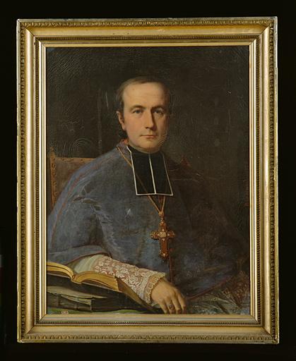 Tableau : portrait de Mgr Landriot