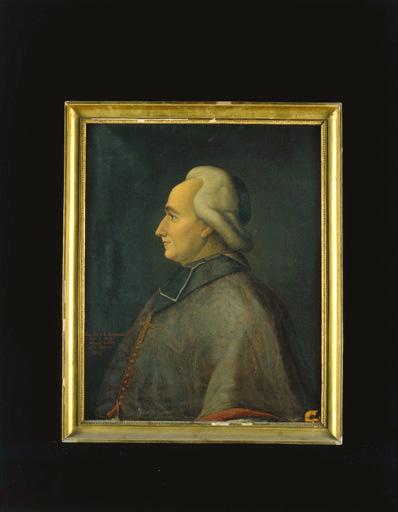 Tableau : portrait de Mgr Pierre-Louis de La Rochefoucauld