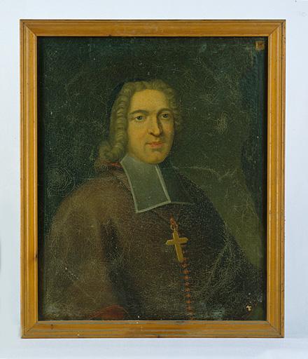 Tableau : portrait de Mgr Jean de Brancas