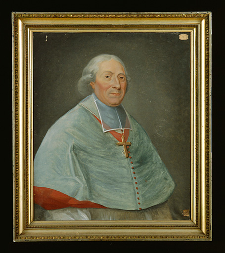 Tableau : portrait de Mgr de Mandolx.