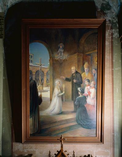 Tableau : prise d'habit de sainte Thérèse de Lisieux (la).