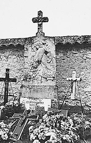 tombeau de la famille Gandaubert Briand