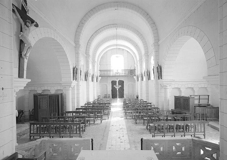 Prieuré de chanoines réguliers de saint Augustin Sainte-Sévère (prieuré cure), église paroissiale