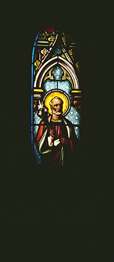 Verrière à personnages : saint Joseph