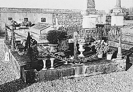 tombeau de la famille Marchand