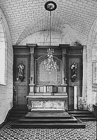 Autel, tabernacle (maître-autel, autel tombeau, tabernacle à ailes)