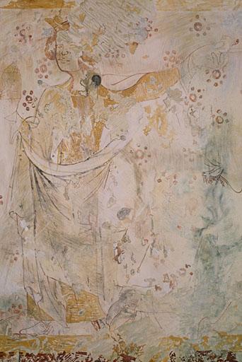 Peinture murale : Adoration des Mages