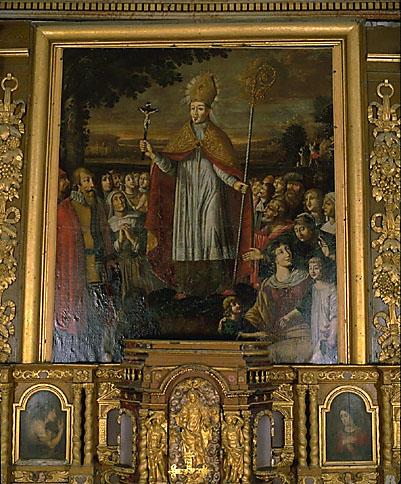 Tableau d'autel : saint Eutrope