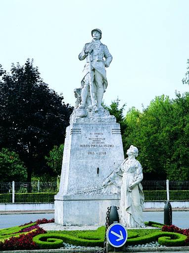 Monument aux morts dit Monument commémoratif de la Guerre 1914-1918