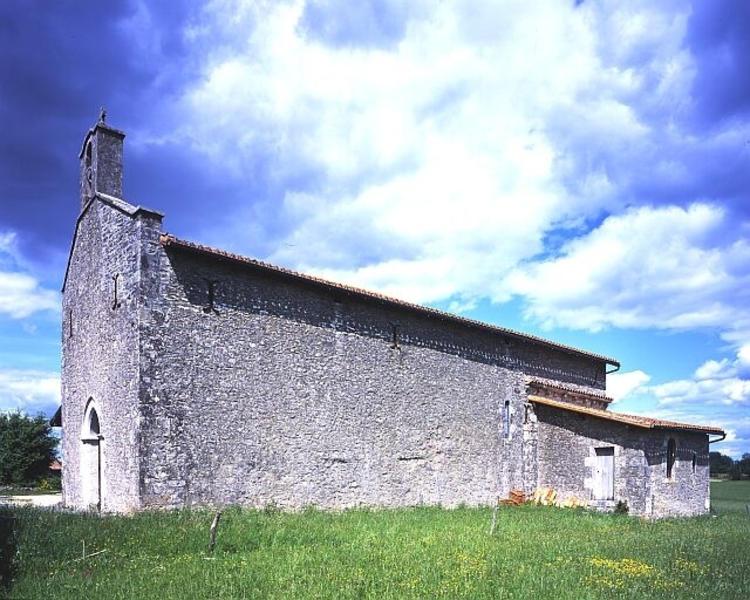 Église paroissiale Saint-Gilles, puis Saint-Coutant