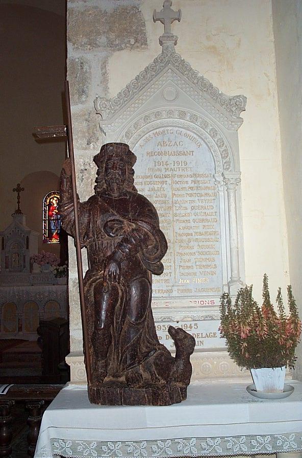 Statue: Saint Roch