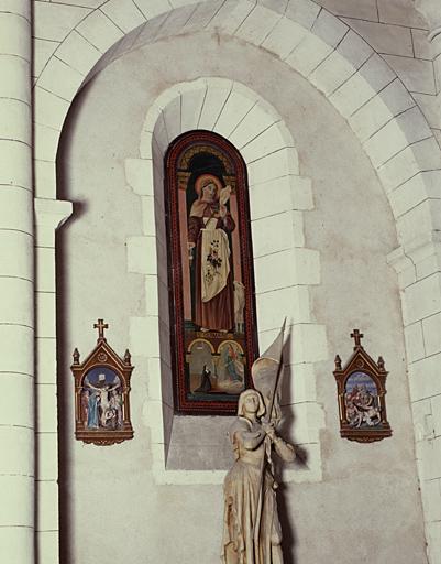 Tableaux (2): Sainte Germaine; saint Roch