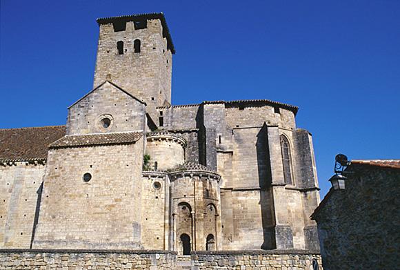 Prieuré de bénédictins Saint-Géraud, Saint-Eutrope.