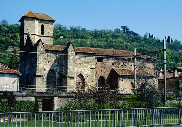 Église de templiers dite église Saint-Vincent du Temple.