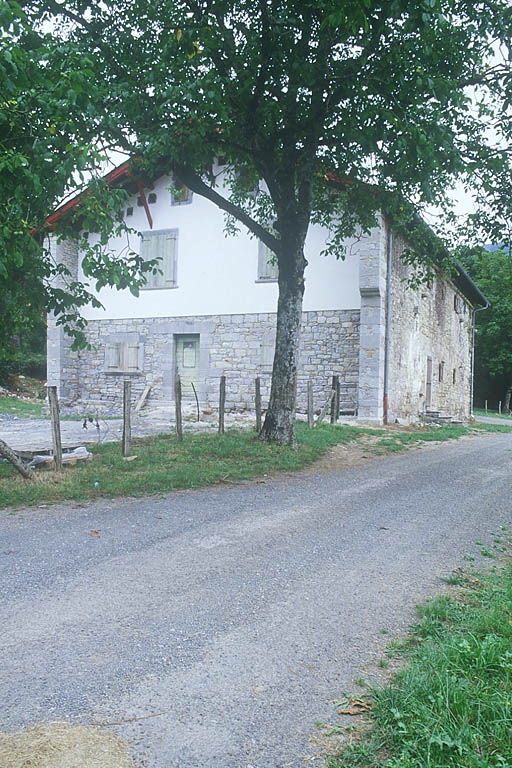 manoir, actuellement ferme Ametzaga