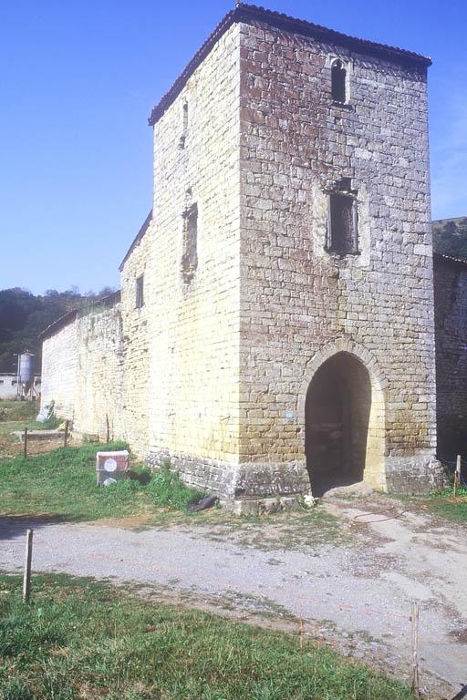 maison forte, dite château de Latsaga, actuellement ferme