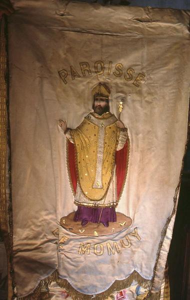Bannière de procession de saint Martin et de la Vierge