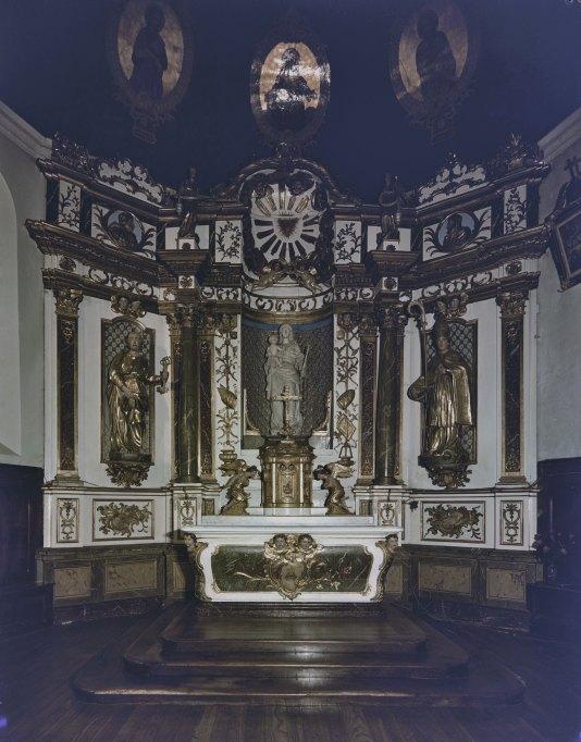 Ensemble de l'autel-retable-tabernacle