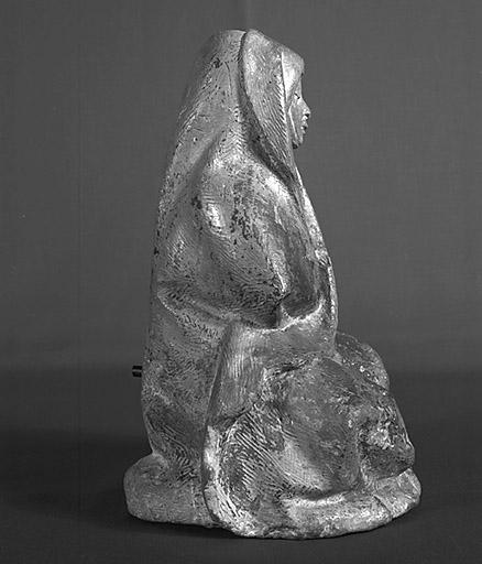 Statue (figurine) : Vierge de Pitié