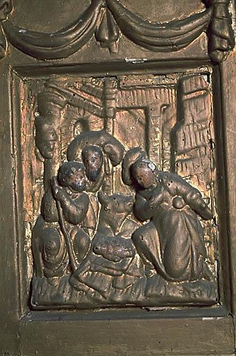 Autel, tabernacle (tabernacle à aile), ancien maître-autel