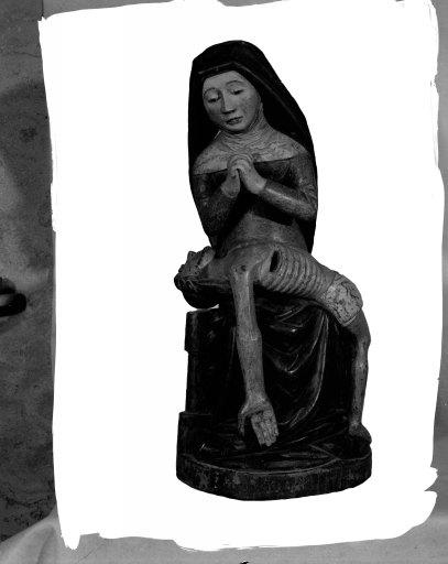 Statue (statuette) : Vierge de Pitié