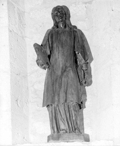 Statue (petite nature) : saint Etienne