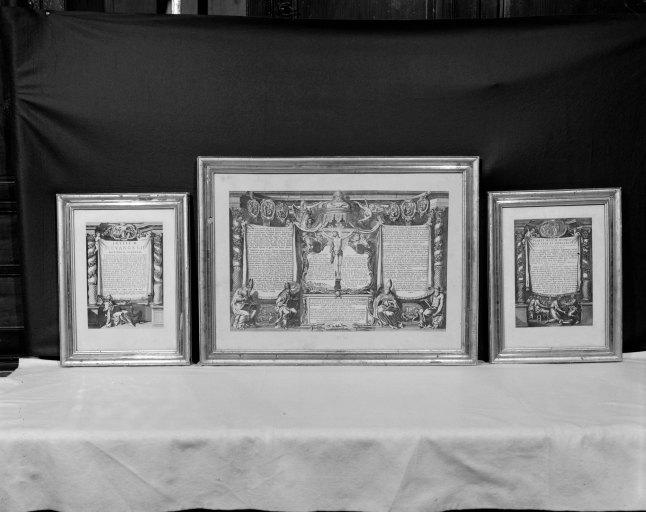 3 canons d'autel