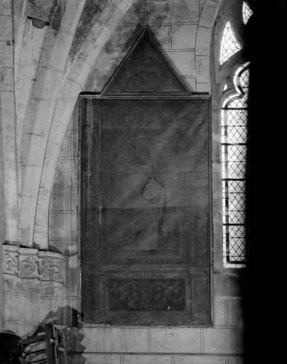 2 tableaux en pendant : saint Bertrand, sainte Jeanne