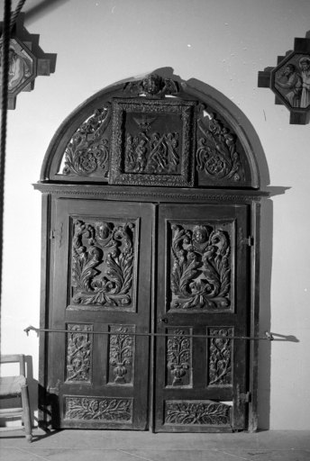 vantail (porte de baptistère)