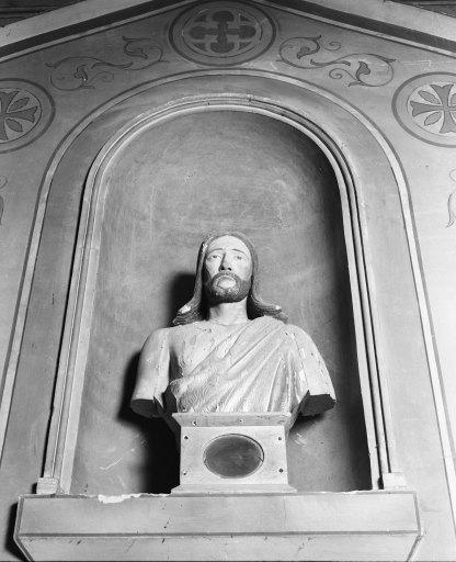 Bustes-reliquaires (2) (paire) : saint Louis, saint Jean-Baptiste