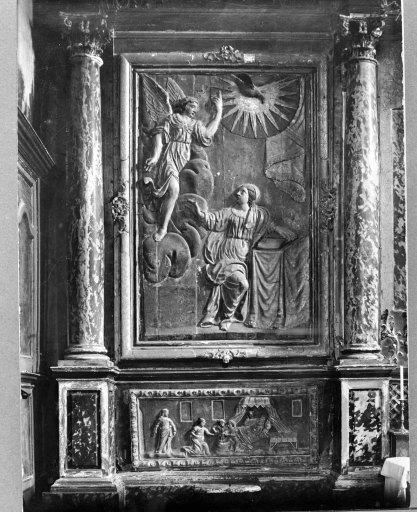 Tableau (tableau d'autel) : saint Roch et saint Sébastien
