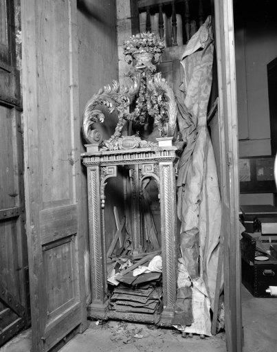 Exposition (pavillon pour la procession des reliques), de saint Alpinien