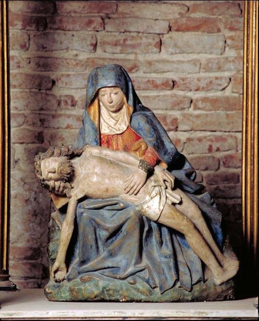 Statue : Vierge de Pitié, dite Notre-Dame de Lamboulari