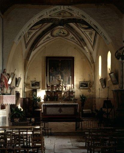 Autel, tabernacle (tabernacle à ailes)