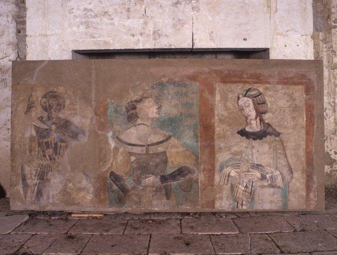 Peinture murale : sibylles
