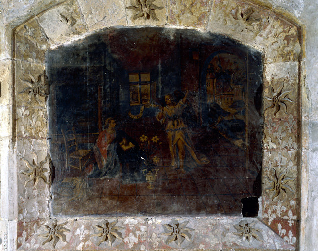 Peintures monumentales (4) : Annonciation, Visitation, Nativité, Circoncision