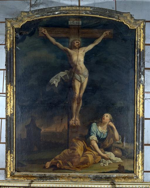 Tableau : Marie Madeleine au pied de la croix