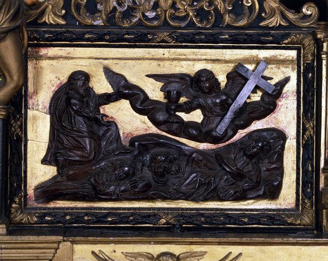 Hauts-reliefs (2) : Agonie du Christ, Arrestation du Christ
