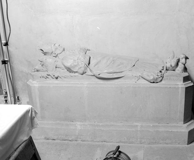 Tombeau (gisant) (1), de Pierre Alfred Grimardias